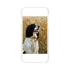 English Springer Spaniel In Wheat Apple Seamless iPhone 6/6S Case (Transparent)