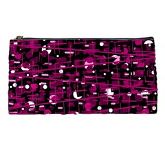 Magenta abstract art Pencil Cases