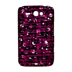 Magenta abstract art HTC ChaCha / HTC Status Hardshell Case