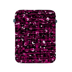 Magenta abstract art Apple iPad 2/3/4 Protective Soft Cases