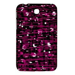 Magenta abstract art Samsung Galaxy Tab 3 (7 ) P3200 Hardshell Case