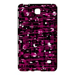 Magenta abstract art Samsung Galaxy Tab 4 (8 ) Hardshell Case