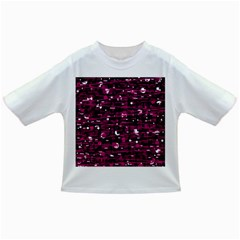 Magenta abstract art Infant/Toddler T-Shirts