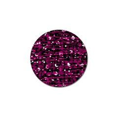 Magenta abstract art Golf Ball Marker (10 pack)
