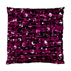 Magenta abstract art Standard Cushion Case (One Side)