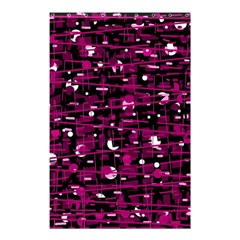 Magenta Abstract Art Shower Curtain 48  X 72  (small)