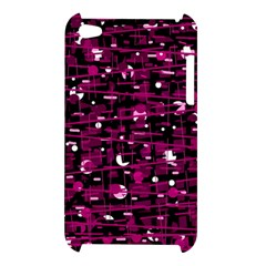 Magenta abstract art Apple iPod Touch 4