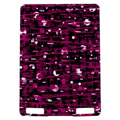 Magenta abstract art Kindle Touch 3G