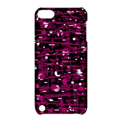 Magenta abstract art Apple iPod Touch 5 Hardshell Case with Stand