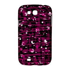 Magenta abstract art Samsung Galaxy Grand GT-I9128 Hardshell Case