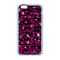 Magenta abstract art Apple Seamless iPhone 6/6S Case (Color)