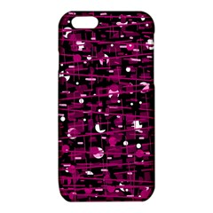 Magenta abstract art iPhone 6/6S TPU Case