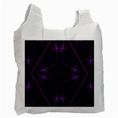 Universe Star Recycle Bag (two Side)