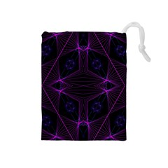 Universe Star Drawstring Pouches (medium)