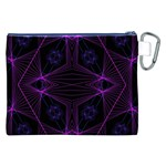 UNIVERSE STAR Canvas Cosmetic Bag (XXL) Back