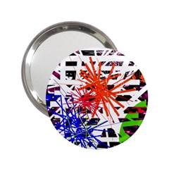 Colorful big bang 2.25  Handbag Mirrors