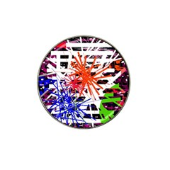 Colorful big bang Hat Clip Ball Marker