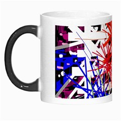 Colorful big bang Morph Mugs
