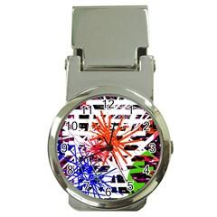 Colorful big bang Money Clip Watches