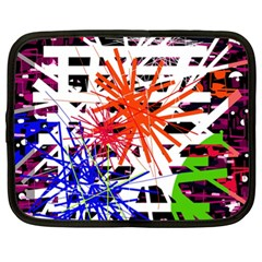 Colorful big bang Netbook Case (XL)