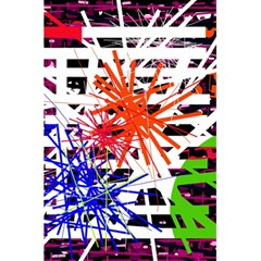 Colorful big bang 5.5  x 8.5  Notebooks