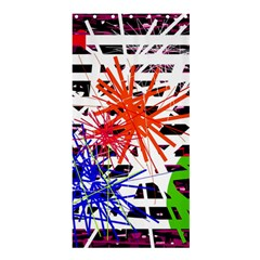 Colorful big bang Shower Curtain 36  x 72  (Stall)