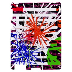 Colorful big bang Apple iPad 2 Hardshell Case