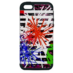 Colorful big bang Apple iPhone 5 Hardshell Case (PC+Silicone)