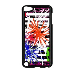 Colorful big bang Apple iPod Touch 5 Case (Black)
