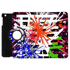 Colorful big bang Apple iPad Mini Flip 360 Case