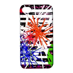 Colorful big bang Apple iPhone 4/4S Hardshell Case with Stand