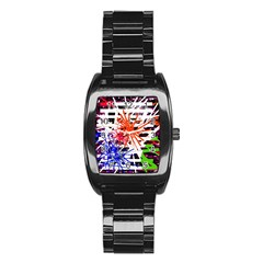 Colorful big bang Stainless Steel Barrel Watch