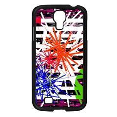 Colorful big bang Samsung Galaxy S4 I9500/ I9505 Case (Black)