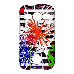 Colorful big bang Samsung Galaxy S7710 Xcover 2 Hardshell Case