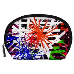 Colorful big bang Accessory Pouches (Large)
