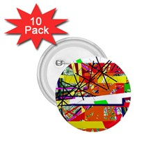 Colorful abstraction by Moma 1.75  Buttons (10 pack)