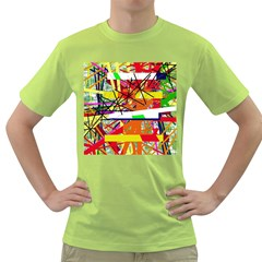 Colorful abstraction by Moma Green T-Shirt