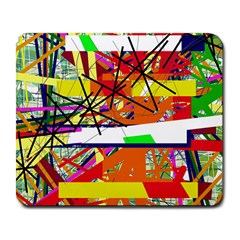 Colorful abstraction by Moma Large Mousepads