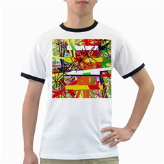 Colorful abstraction by Moma Ringer T-Shirts