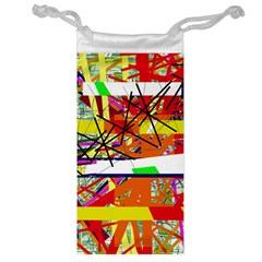 Colorful abstraction by Moma Jewelry Bags