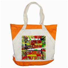 Colorful abstraction by Moma Accent Tote Bag