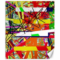 Colorful abstraction by Moma Canvas 20  x 24