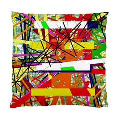 Colorful abstraction by Moma Standard Cushion Case (Two Sides)
