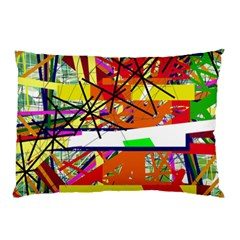 Colorful abstraction by Moma Pillow Case