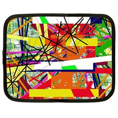 Colorful abstraction by Moma Netbook Case (XXL)