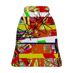 Colorful abstraction by Moma Bell Ornament (2 Sides)