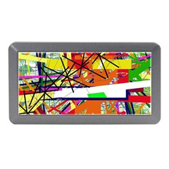 Colorful abstraction by Moma Memory Card Reader (Mini)
