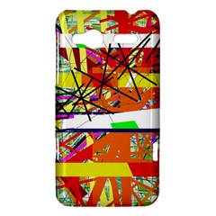 Colorful abstraction by Moma HTC Radar Hardshell Case