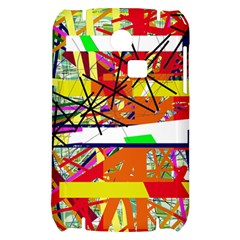 Colorful abstraction by Moma Samsung S3350 Hardshell Case