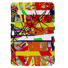 Colorful abstraction by Moma Samsung Galaxy Tab 8.9  P7300 Hardshell Case